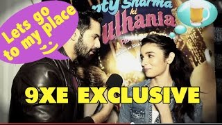 VARUN DHAWAN THROWS PICKUP LINES AT ALIA BHATT
