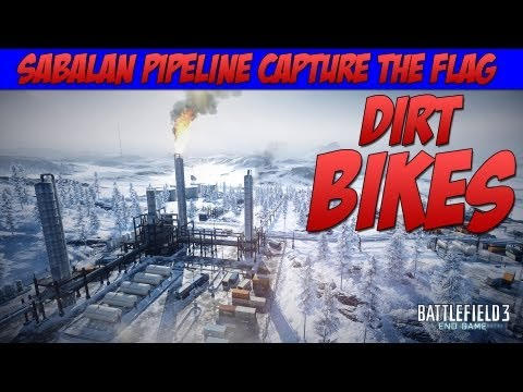 BATTLEFIELD 3 SABALAN PIPELINE CAPTURE THE FLAG GAMEPLAY (BF3 End Game Review)