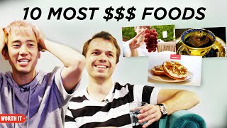 Steven And Andrew React To The 10 Most Expensive 'Worth It' Foods