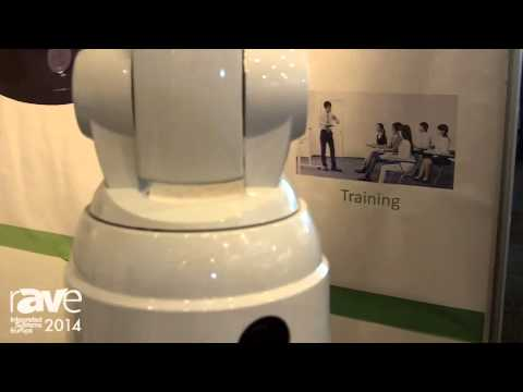 ISE 2014: iSmart Video Exhibits Tracking Video Camera