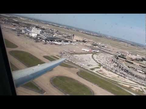 McDonnell Douglas MD-80 takeoff from Dallas-Fort Worth on American Airlines