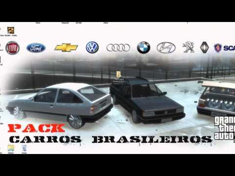 Pack Carros Brasileiros GTA IV