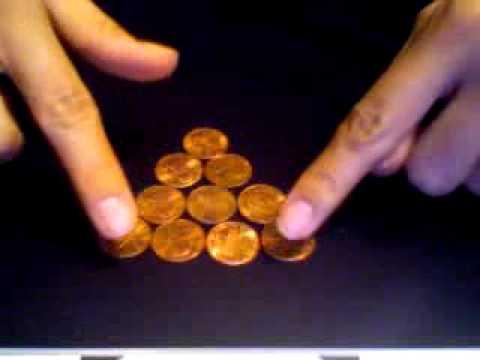Cool Brain Teasers Pyramid Coin Flip Cool Brain
