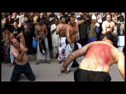 PART 5: Zanjir Zani 10th Muharram 2010 Shah Gardez Multan