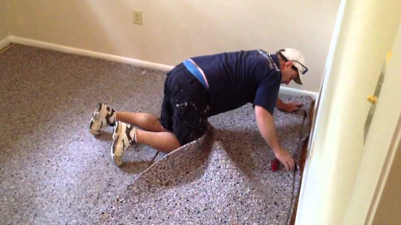 How To Install Carpet Pad Youtube