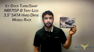 "Icy Dock TurboSwap MB171SP-B Tray-Less 3.5"" SATA Hard Drive Mobile Rack Review"