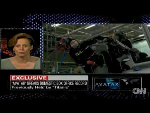 Sigourney Weaver and James Cameron promote 'Avatar' on Larry King Live