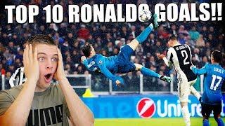 TOP 10 GOALS VAN CRISTIANO RONALDO!! VOETBAL NEDERLANDS