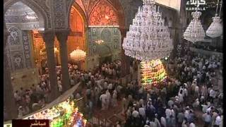 Karbala TV - Live Salatal Asr and Ziarat from Roza Hazrat Abbas A.S. and Imam Hussain AS Part 1 of 2