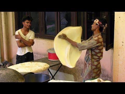 incredible Style of Making Rumali Roti