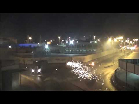 Bahrain : Riot Police Attack Heavily and  Resistance Movement Fight Back