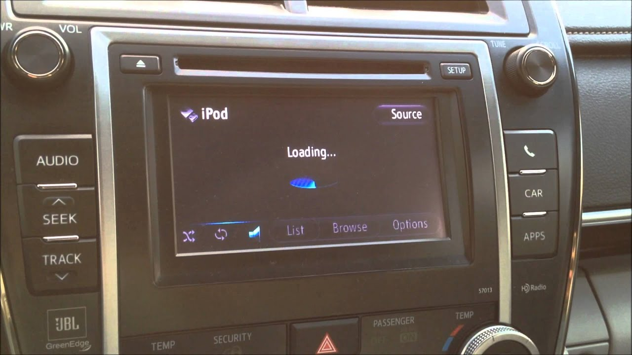 2012 Toyota Camry Xle Entune Radio Problem Update May