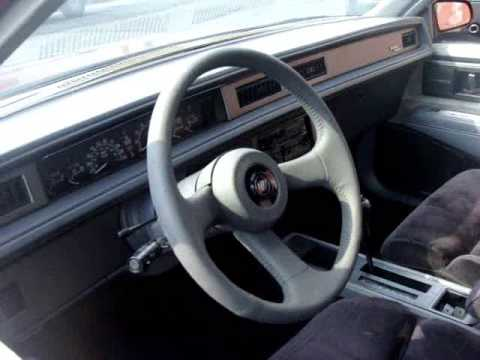 1989 Buick Lesabre T Type Youtube
