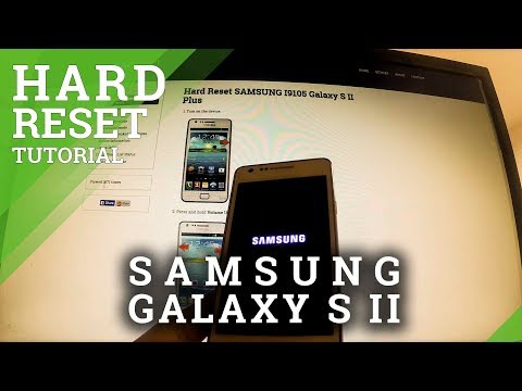 Hard Reset SAMSUNG Galaxy S II - factory reset by Recovery Mode