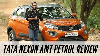 Tata Nexon Petrol AMT Detailed Review in Hindi