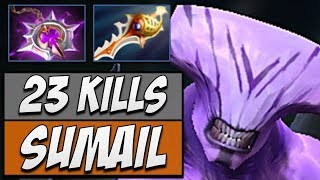 Sumail Faceless Void with Divine Rapier | Dota Gameplay