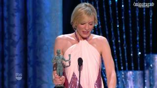 Cate Blanchett wins SAG Award 2014 (Korean sub)
