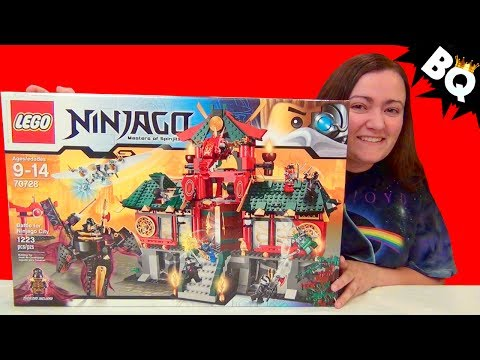 Lego Ninjago Battle For Ninjago City 70728 Build & Review video