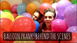 Balloon Prank: Behind The Scenes