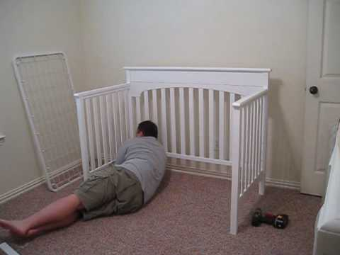 Crib Assembly Time Lapse Youtube