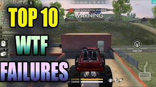 Top 10 WTF moments|| Free fire funny moment collection||Run gaming