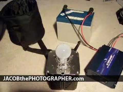 Homemade Vegabond Inverter Portable Power Source