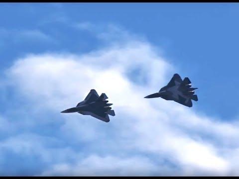Авиадартс 2017 в Воронеже ВКС России/Су-57 (Т-50 ПАК ФА)/Airshow Russian Space Forces