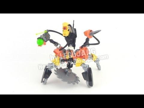Hero Factory Nex + XT4 combiner REVIEW (Breakout wave 2)