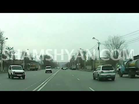 Արցախի փողոցում տեղի ունեցած ավտովթարի բացառիկ տեսանյութը