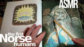(Norse myth) creation & the first humans | ASMR