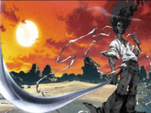 Afro Samurai combat By The Rza video
