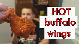 Fried Chicken Wings (Keto) with Charlie | super hot buffalo