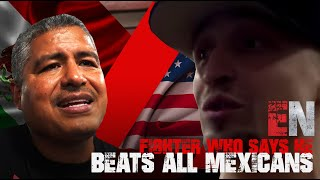 Robert Garcia vs Fighter Who Says He Beats All Mexicans  - EsNews Boxing