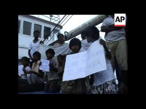 Maritime police intercept boat carrying Sri Lankans