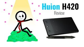 Huion H420 Drawing Tablet Review