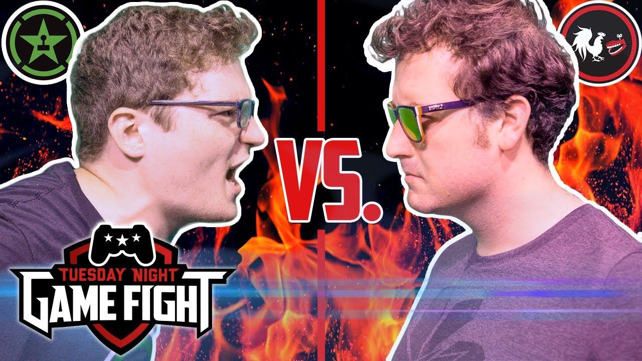 Tuesday Night Game Fight: Achievement Hunter Rocks Animation Ep. 2