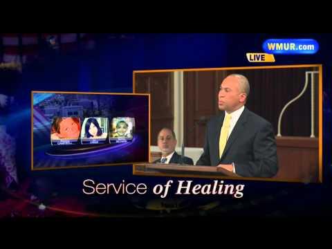 Raw Video: Deval Patrick speaks at Service of Healing
