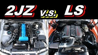 2JZ v.s. LS - Which Is Better?