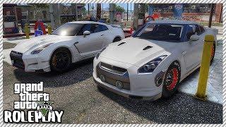 GTA 5 Roleplay - Drag Nissan Nissan GT-R Street Racing | RedlineRP #222