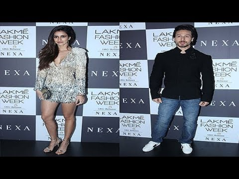 AWWW! Tiger Shroff saved Disha Patani from wardrobe malfunction at LFW
