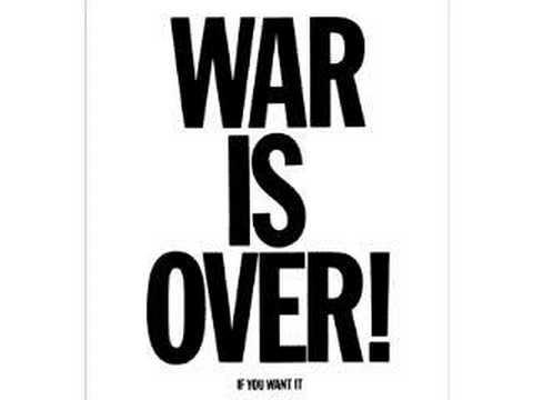 WAR IS OVER ... Vote