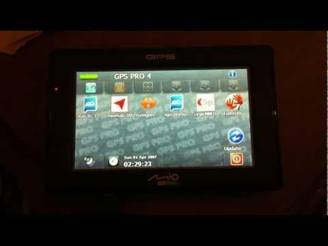 MIO C320 (520 620) con GPSPRO (www.mygpsnavi.com) tomtom igo primo sygic mireo miomap navigon