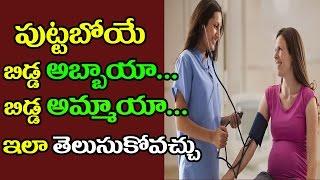 తల్లి బీపీ ద్వారా పుట్టబోయే బిడ్డ అబ్బాయా... అమ్మాయా.... అని తెలుసుకోవచ్చు....! || Top Telugu Media