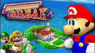 30 Hidden Out of Bounds Discoveries in Super Mario 64 |  Boundary Break