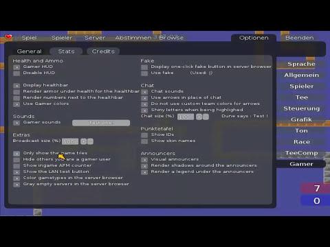Teeworlds Gamer Client NEW [HD][Deutsch]