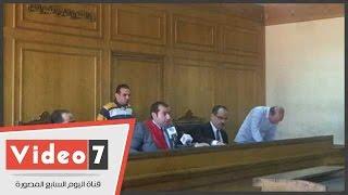 """بالفيديو..تأجيل محاكمة مالك قرية بالشروق بـ""""قتل ضحايا أتوبيس المدارس"""" لـ29 أبريل"""