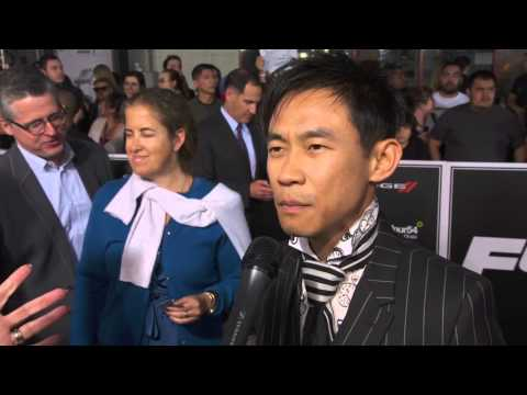 Furious 7 Premiere James Wan Interview - Fast & Furious 7