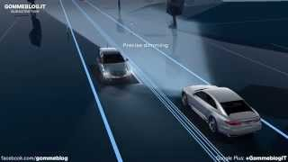 Audi Matrix Laser Lights Animation