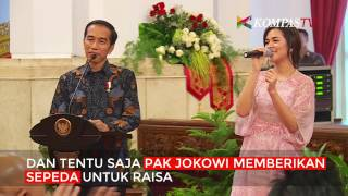 Download Lagu Cieee... Pak Jokowi Cari Raisa Gratis STAFABAND