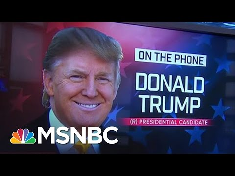 Donald Trump Responds To Nikki Haley Criticism | MSNBC